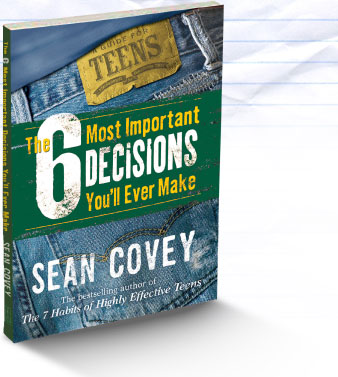 sean covey 6 decisions worksheets